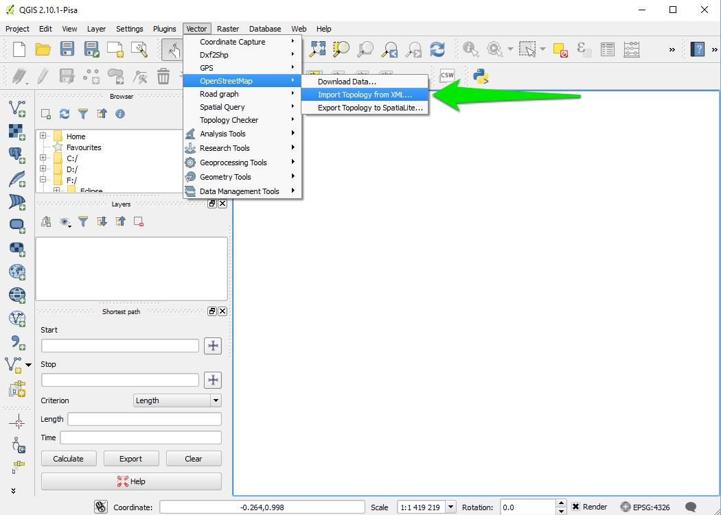 Manipulate OSM Datas · GAMA-Platform